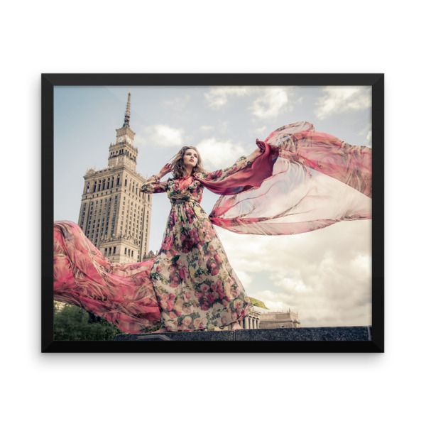 The Flowers of the City – Framed poster