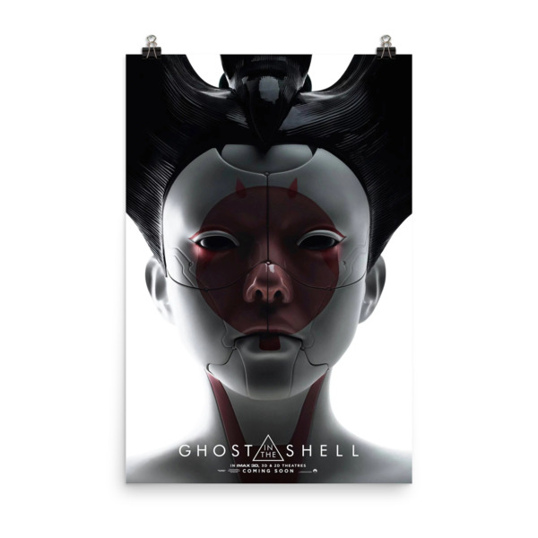 Ghost in the Shell Movie poster Mock 1