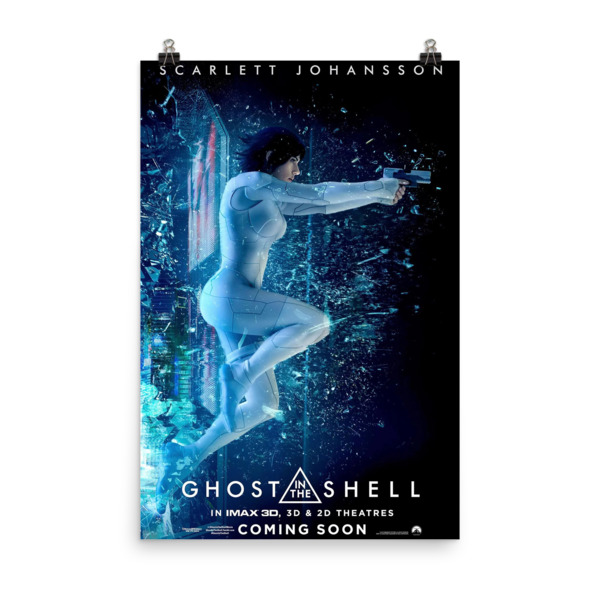 Ghost in the Shell Movie Poster Mock 3