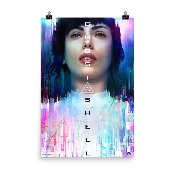 Ghost in the Shell Movie Poster Mock 4