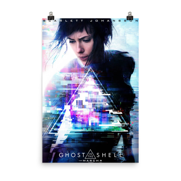 Ghost in the Shell Regular Movie Poster