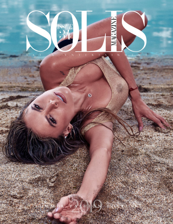 SOLIS MAGAZINE ISSUE 34: SUMMER FASHION EDITION 2019 COVER