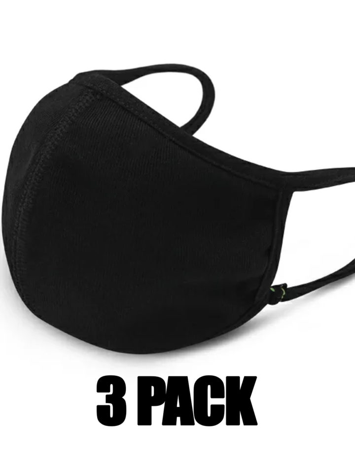 3 Pack Fashion Face Cover Unisex